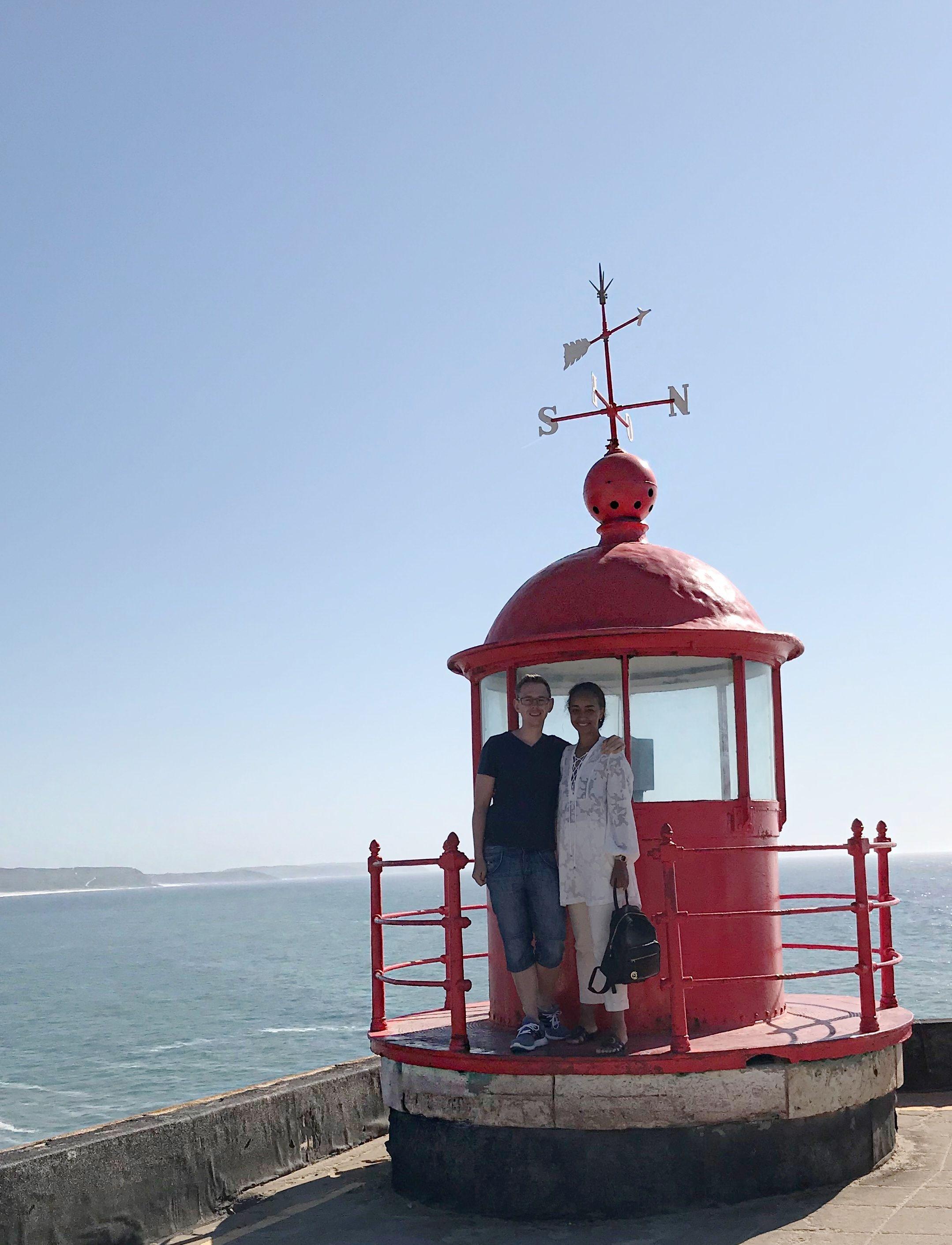 Farol de Nazaré Portugal