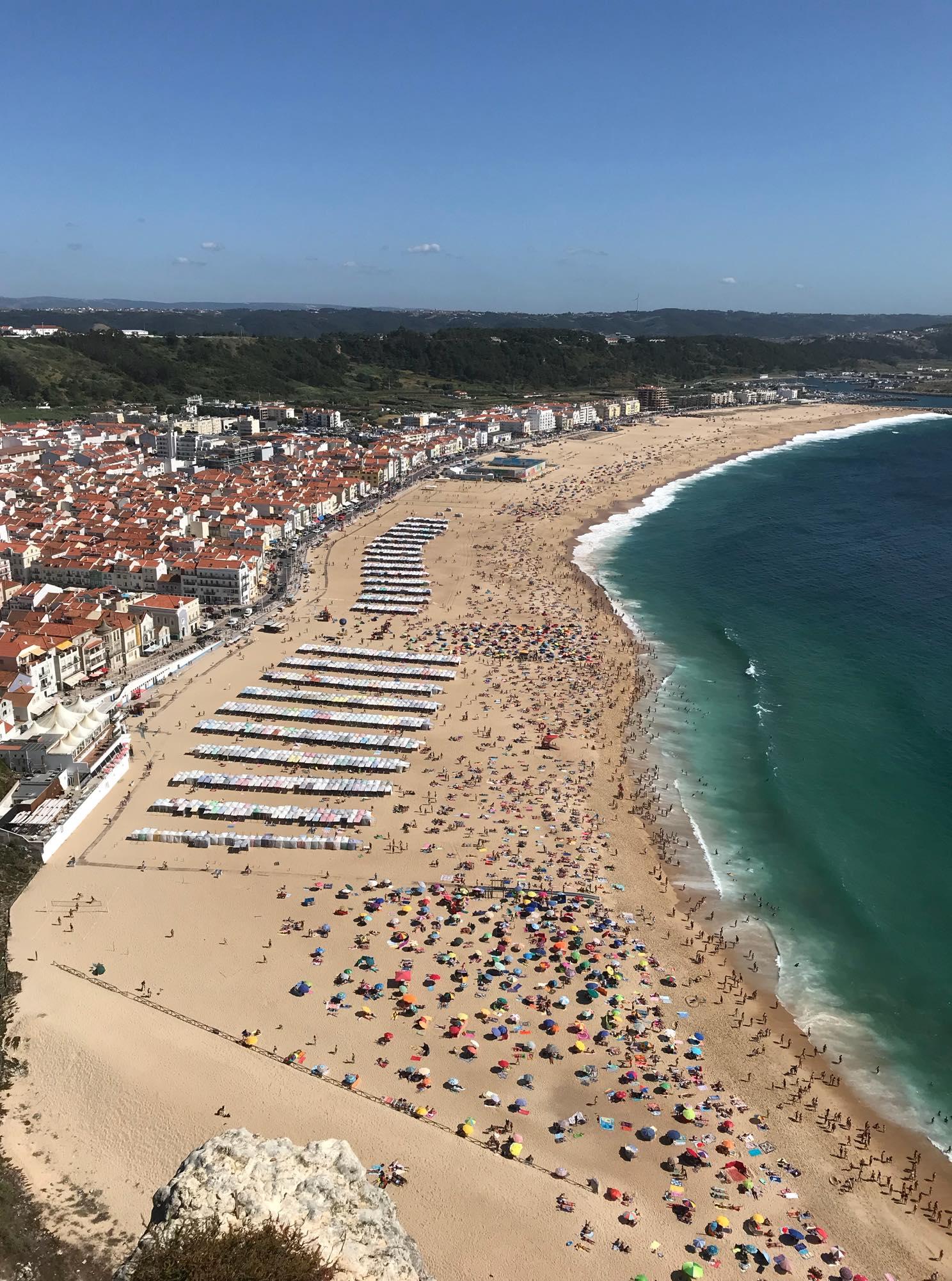 Praia de Nazaré Portugal